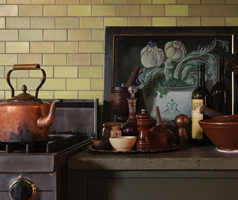 Tour Alice Waters' kitchen and get a sneak peek at her daughter Fanny Singer's new line, Permanent Collection (at this wknd's SF market), on RM today. @alicelouisewaters @permanentcollection #remodelistamarket  @ddent