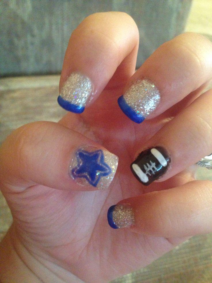 dallas cowboys nails more nail styles cowboys addiction dc boyz nailed ...
