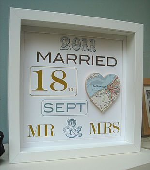 personalised map picture by little bird designs | notonthehighstreet.com