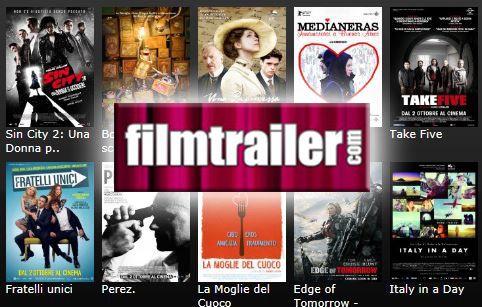 Scopri cosa riserva la nuova stagione cinematografica su PrimoItalia! Con Filmtrailer potrai guardare tutti i trailer che vorrai e conoscere in anteprima i film prossimamente in uscita nelle sale. Per tutti gli appassionati del grande Cinema. Quando vuoi tu, dove vuoi tu!