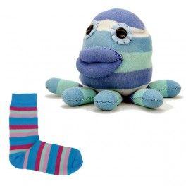Animaux en chaussettes - Pieuvre chaussette