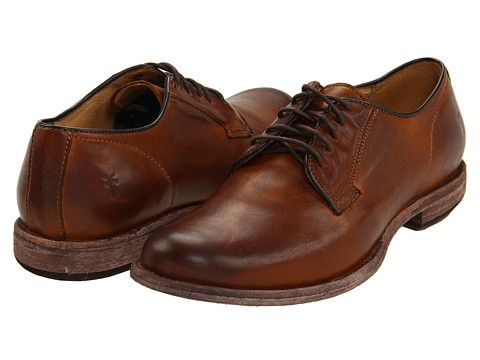 Frye Phillip Oxford Cognac Vintage Leather - Zappos.com Free Shipping BOTH Ways