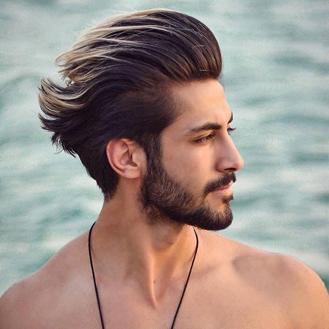 Mittellange Frisuren Fur Manner Haarfarbe Jungs Frisuren Coole Frisuren Haarschnitt