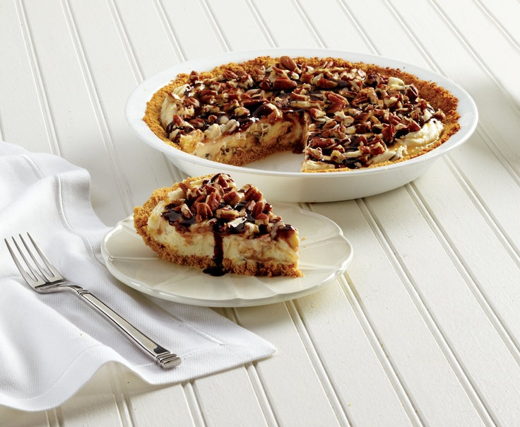 No Bake Turtle Cheesecake by Miss CandiQuik