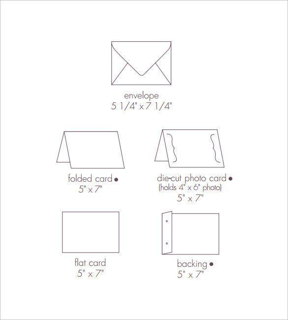 28 Free Printable 5x7 Envelope Template Robertbathurst Envelope Template Envelope Design Template 5x7 Envelopes