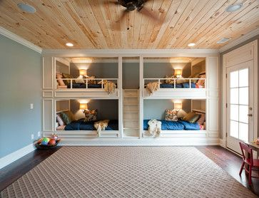 Bunk Beds Design Ideas, Pictures, Remodel and Decor