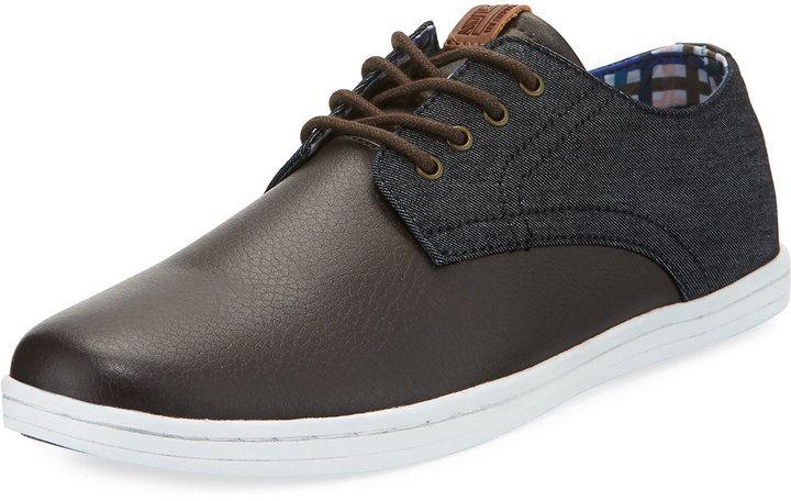 Ben Sherman Presley Leather Oxford Sneaker, Multi