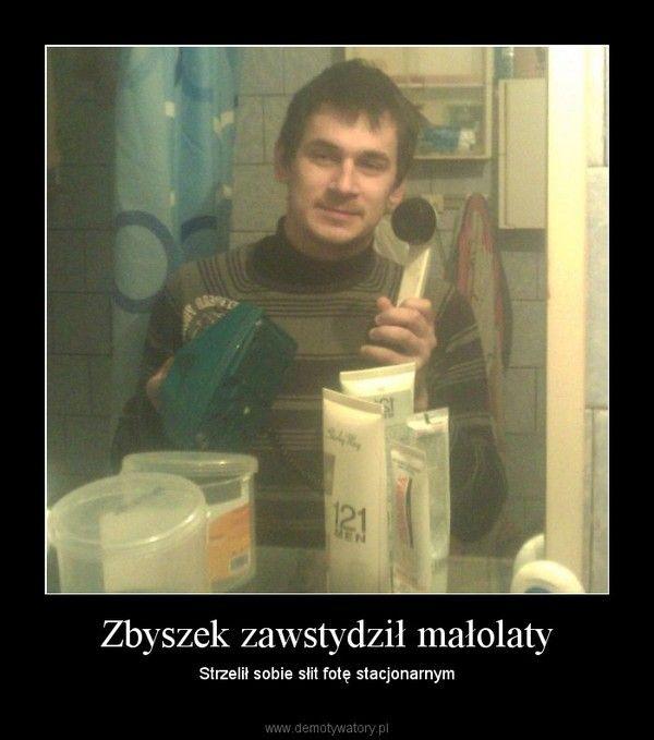 #Selfie w wykonaniu Zbyszka zawstydziło małolaty...
