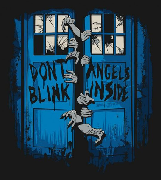 Don't Look Away, Don't Even Blink ... Walking Dead style.
