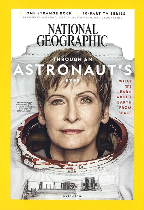 National Geographic March 2018