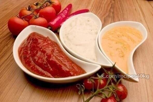 Такие разные соусы(10 вариантов разных соусов) для твоей сухой куриной грудки.