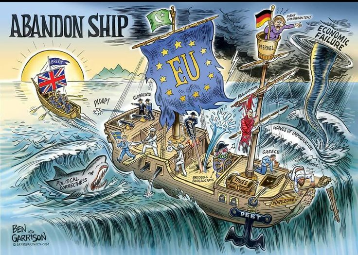 Do you wanted to stay aboard a sinking EU ship or do you want a free, independent UK?