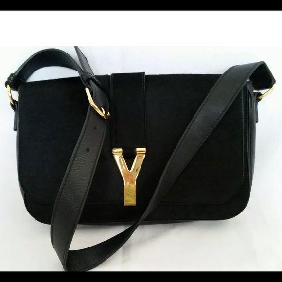 YSL Cabas Chyc Pony Hair Shoulder Bag | Saint Laurent, Yves Saint ...