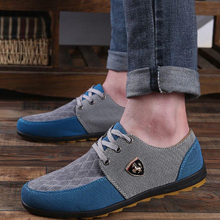 Mode homme chaussures Casual chaussures respira gqsTW