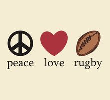 peace, love & rugby.