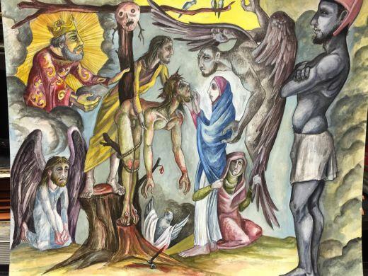 Leonard Greco (2015) Descent from the Cross