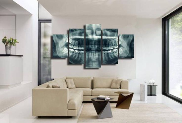 Do you ever use radiographs in your dental office decor?                                                                                                                                                                                 More