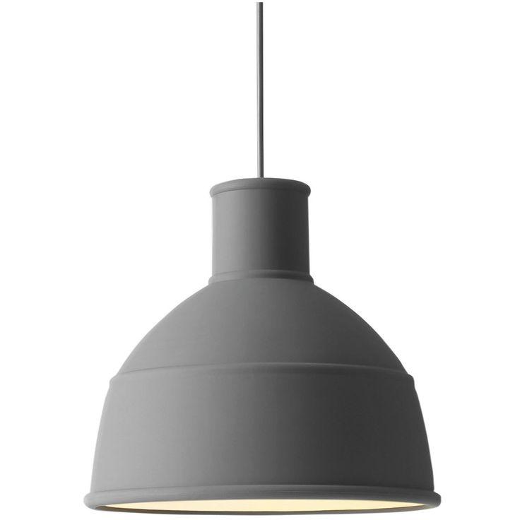 Muuto lampe Unfold grå