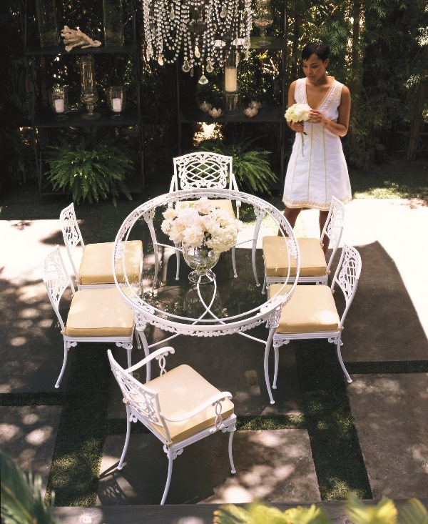 Elegance Dining Collection In Lemonburst From Brown Jordan. # OutdoorFurniture #Florida #WestPalm #Patio #Furniture | Brown Jordan |  Pinterest | Brown Jordan ...