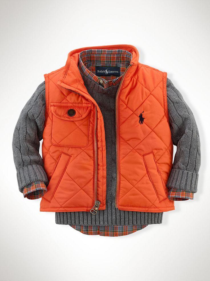 Richmond Pony Bomber Vest - Outerwear & Jackets  Infant Boy (9M–24M) - RalphLauren.com