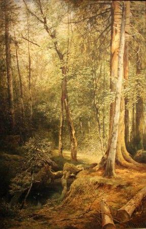 julius mařák - Krajina s bažinou - Landscape with