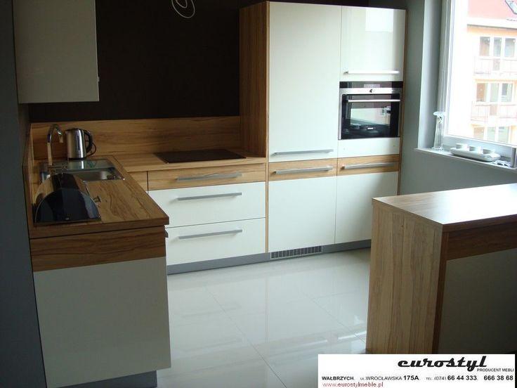 kuchnia w bloku na wymiar  Szukaj w Google  kitchen   -> Kuchnia Meble Poznan