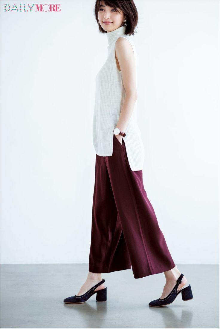『ユニクロ』と『ViS』とTシャツと。通勤コーデの強〜い味方が話題! 今週の人気ランキングトップ3☆ | ファッション(コーディネート・流行) | DAILY MORE