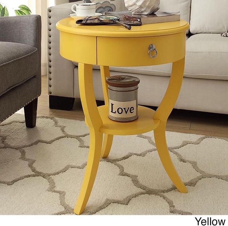 Small Accent Tables Nightstand With Drawer Bedside Cheap Small Spaces Side  End #Unbranded