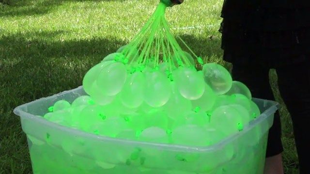 Plano dad's invention fills and ties water balloons in seconds - Dallas News | myFOXdfw.com