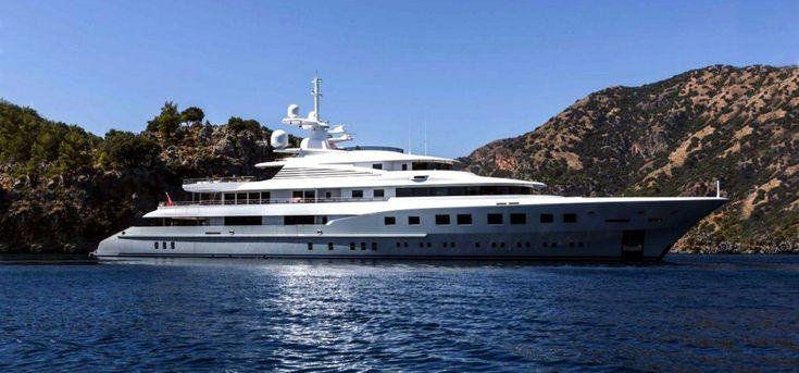 Steel aluminium megayacht Mega yacht for sale-master