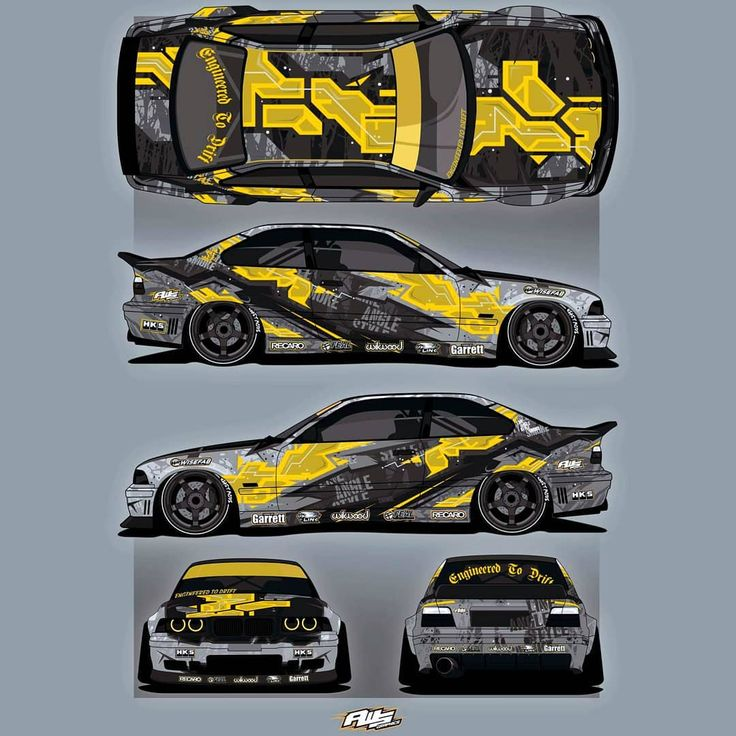 Here is a wrap design for yasser mustafa m3 e36 bmw. This car was amazing before…