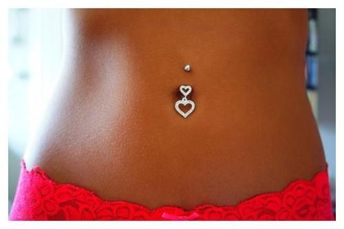 I want a belly button piercing so much