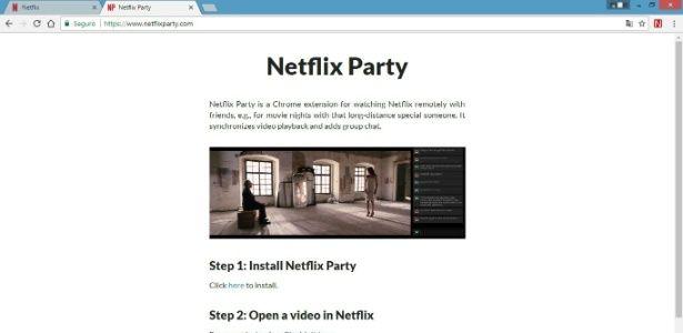 Veja Netflix Com Os Amigos Cada Um Em Sua Casa Netflix