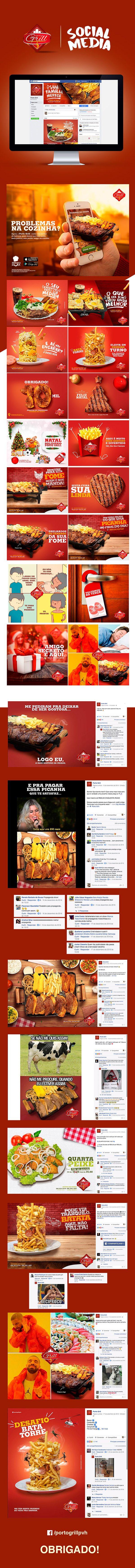 Porto Grill - Social Media