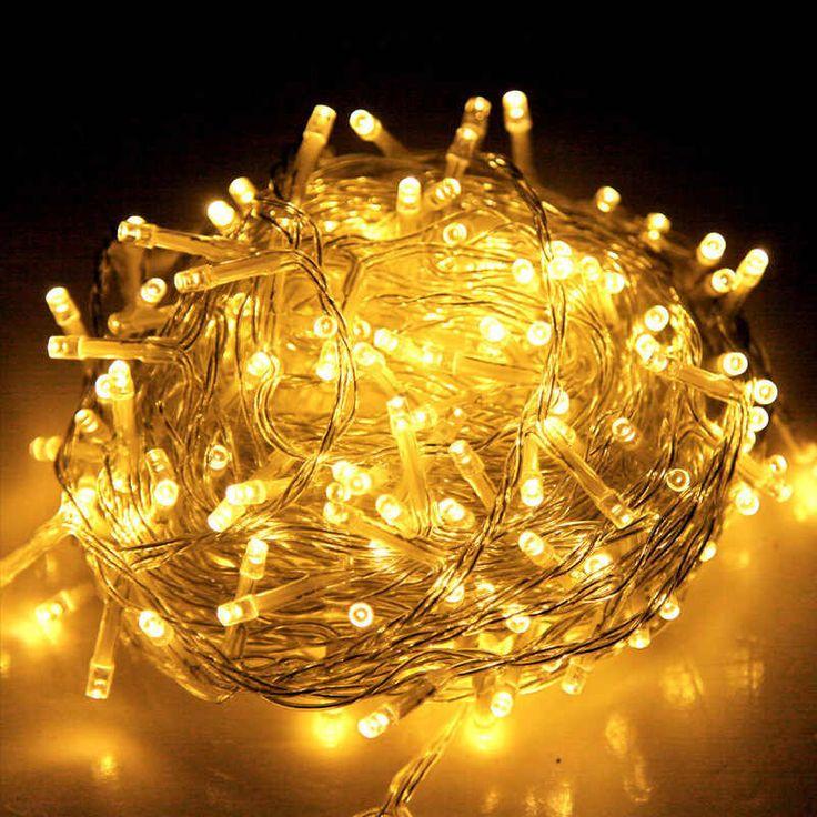 500 LED Christmas String Fairy Lights - Warm 100m | Buy Fairy & String Lights