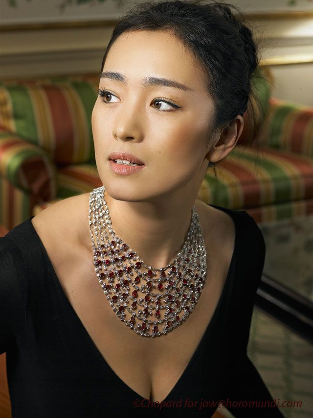 Gong Li, timeless Asian beauty.