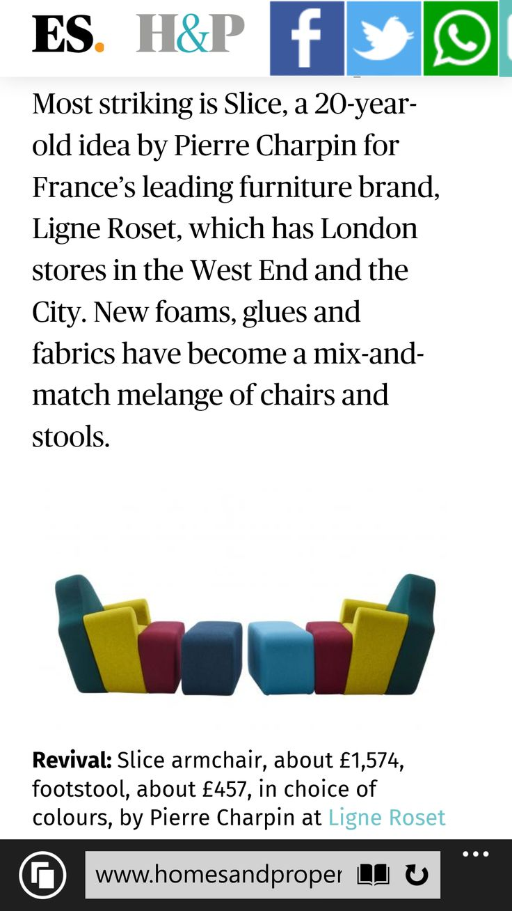 Barbara Chandler's report on Paris Maison 2016 for Homes & Property, LondonEvening Standard