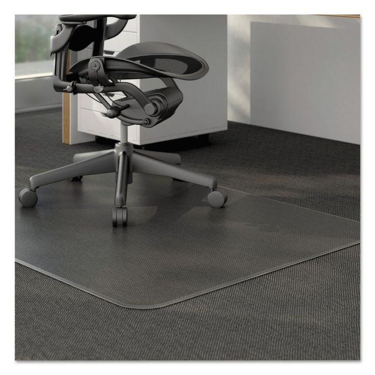 Black Office Chair Mat
