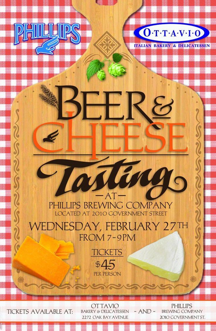 Beer & Cheese Tasting - Victoria BC - Feb 27