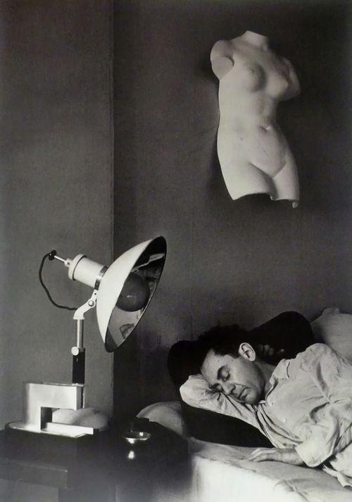 Man Ray (Emmanuel Rudzitsky, 1890-1976) Self-Portrait (Asleep), 1930