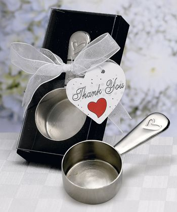Round Shaped Coffee Scoop Favors