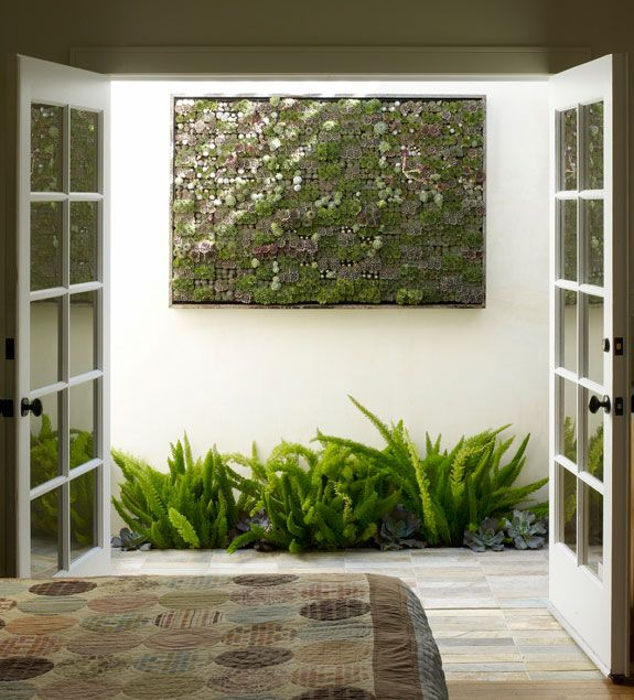 jardines contemporaneos pequeños | inspiración de diseño de interiores