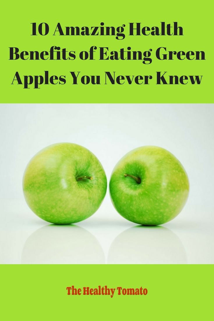 10 Amazing Health Benefits of Eating Green Apples | Green ...
