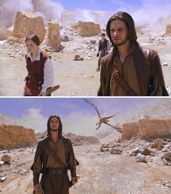 The Chronicles of Narnia – The Voyage of the Dawn Treader (2010) Starring: Georgie Henley as Lucy Pevensie, Skandar Keynes as Edmund Pevensie and Ben Barnes as Prince Caspian.