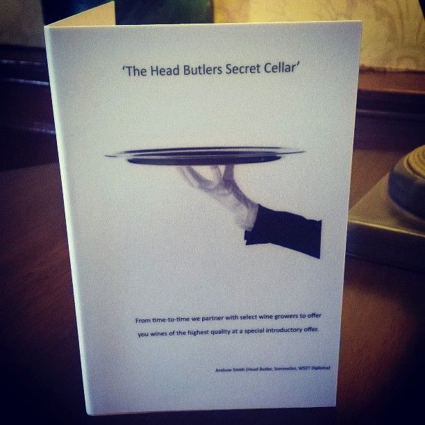 What's inside the Butlers Secret Cellar? Find out at The Howard
