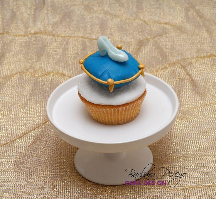 La scarpina di Cenerentola... versione cupcake