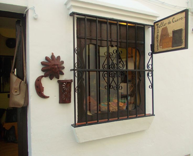 Our shop in Grazalema, newly decorated!