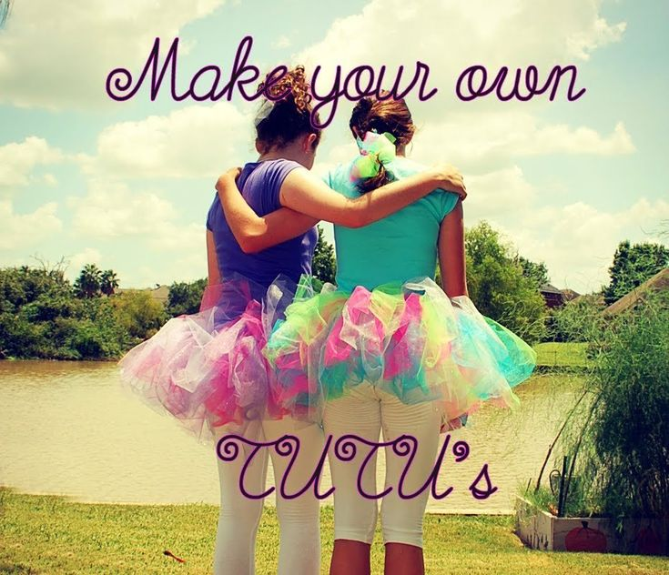 How to make SIMPLE NO-SEW TUTUS! For Adults and Children! This is how I'm making my tutu for my costume on my birthday!