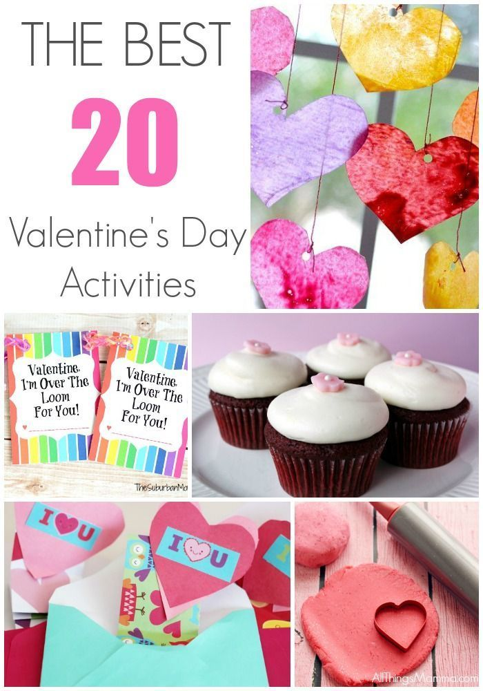 20 of THE BEST Valentine's Day Ideas and Activities that you must-try this year!