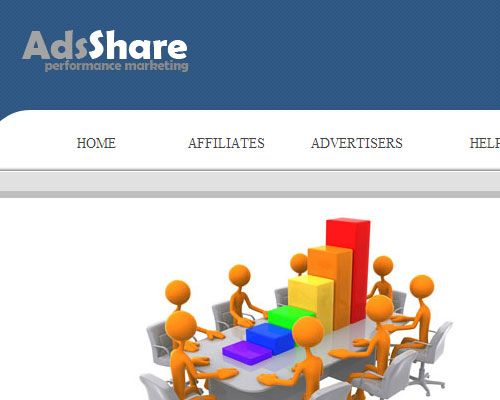 Web Design - Ads Share a Professional web design layout for a performance marketing company.